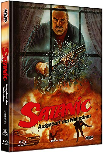 Satanic - Ausgeburt des Wahnsinns - Sonny Boy [Blu-Ray+DVD] - uncut - Mediabook Cover A