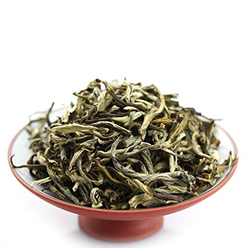 GOARTEA® 500g (17.6 Oz) Nonpareil Supreme Organic FuJian Jasmine Silver Buds Loose Mo Li Yin Hao Chinese GREEN TEA
