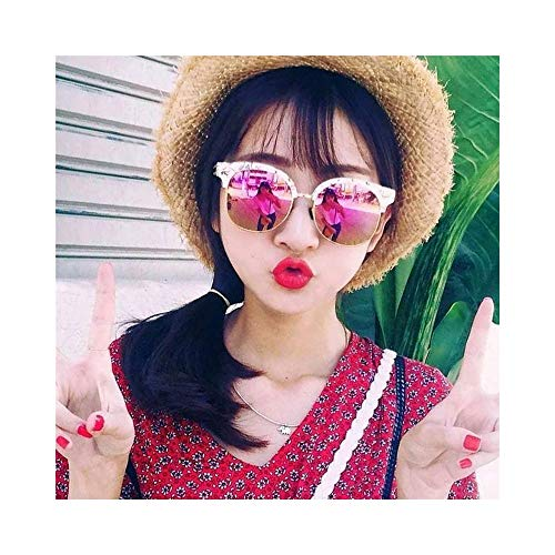 WOYBAOF Gafas de Sol polarizadas, Gafas de Sol Vintage de Gama Alta para Mujeres Gafas de Sol polarizadas de Gama Alta para Viajes al Aire Libre, Diseño de Moda clásico, Protección UV