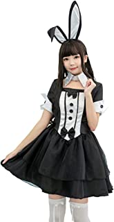 OkutO バニーガール コスプレ ハロウィン コスチューム レディース 衣装 イベント (M)