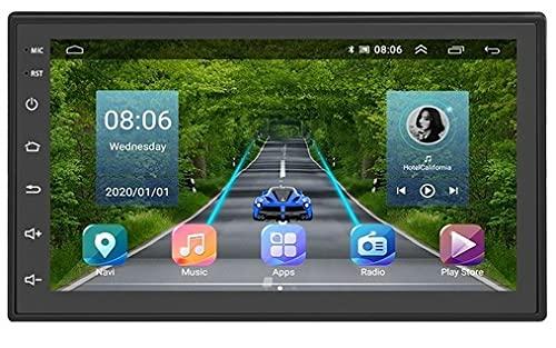 Di Tutto Per Tutti® Autoradio 2 Din 7'' Android 9.1 Navigatore GPS Bluetooth WIFI USB/FM Mirror 1GB 16GB | Car Multimedia Due Din 7 Pollici Android 9.1 Touch Screen