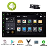 Android 8.1 Car Stereo with GPS Navigation Double Din Car Radio...