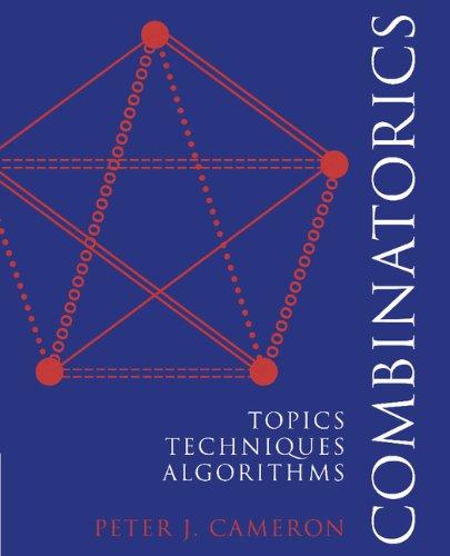Combinatorics: Topics, Techniques, Algorithms (English Edition)