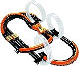 WAVE RACERS – CIRCUIT VOITURE TRIPLE SKYLOOP LOOPINGS x3 + VOITURES x2 – Circuit Grande Piste pour Enfants à Monter de 58 Pièces avec Petites Voitures de Course – Jouet Enfant 6 ans et +