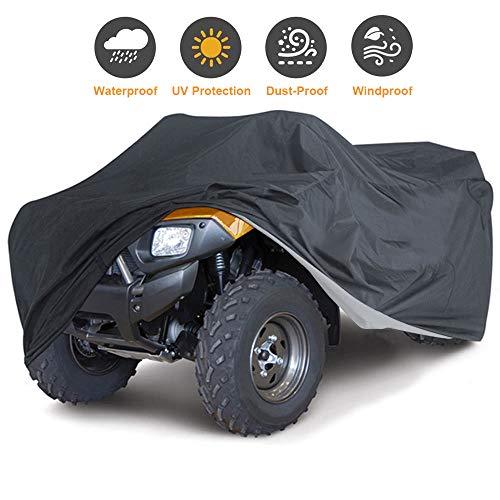 Szblnsm All-Season Waterproof ATV Cover, Universal Heavy Duty Outdoor UV-Resistant, Tear-Resistant Material, 102'' L x 44'' W x 48'' H