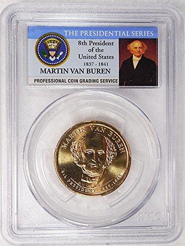 2008 P Pos. A Martin Van Buren Presidential Dollar PCGS MS 66...