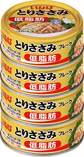 いなば食品 いなば とりささみフレーク 4缶P