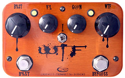 J. Rockett Audio Designs Signature Series Paul Trombetta WTF Fuzz and Overdrive Guitar Effects Pedal