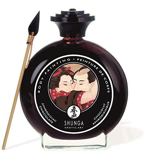 Body Paint - Pintura Corporal Comestible Sabor Chocolate 100 ml. – Shunga
