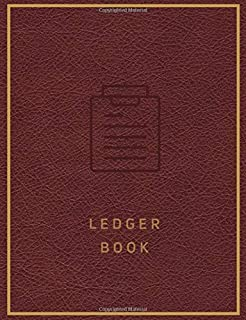 Ledger Book: Basic Accounting Ledger for Bookkeeping