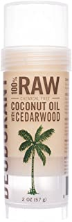 SKINNY and CO. All-Natural Chemical-Free, Aluminum Free, Deodorant with Coconut Oil (2 Oz.) (Cedarwood)