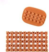 قوالب فندان اصنعها بنفسك وحرف أبجدية لقطع البسكويت ختم أدوات الخبز