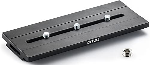 Gitzo GS5370LD Quick Release Plate Aluminum Long D Profile (Multi Color)