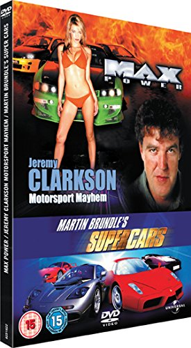 Max Power/Brundle Cars/Jeremy Clarkson [Reino Unido] [DVD]