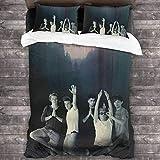 maichengxuan One Directions - Juego de cama de 3 piezas, mic