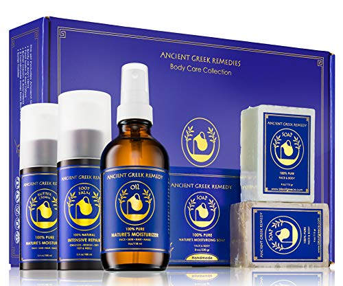 Ancient Greek Remedy Organic Spa Skin Care Gift Set