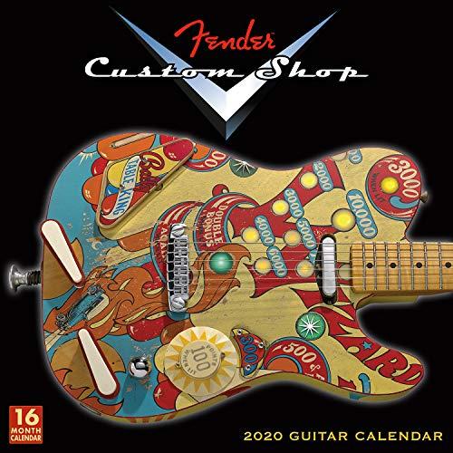 Fender Custom Shop Guitars 2020 Calendar