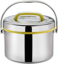WCHCJ Lunch Box Containers 304 Stainless Steel Double Insulated Thermal Insulation Lunch Box Student Bento Box Lunch Box (...