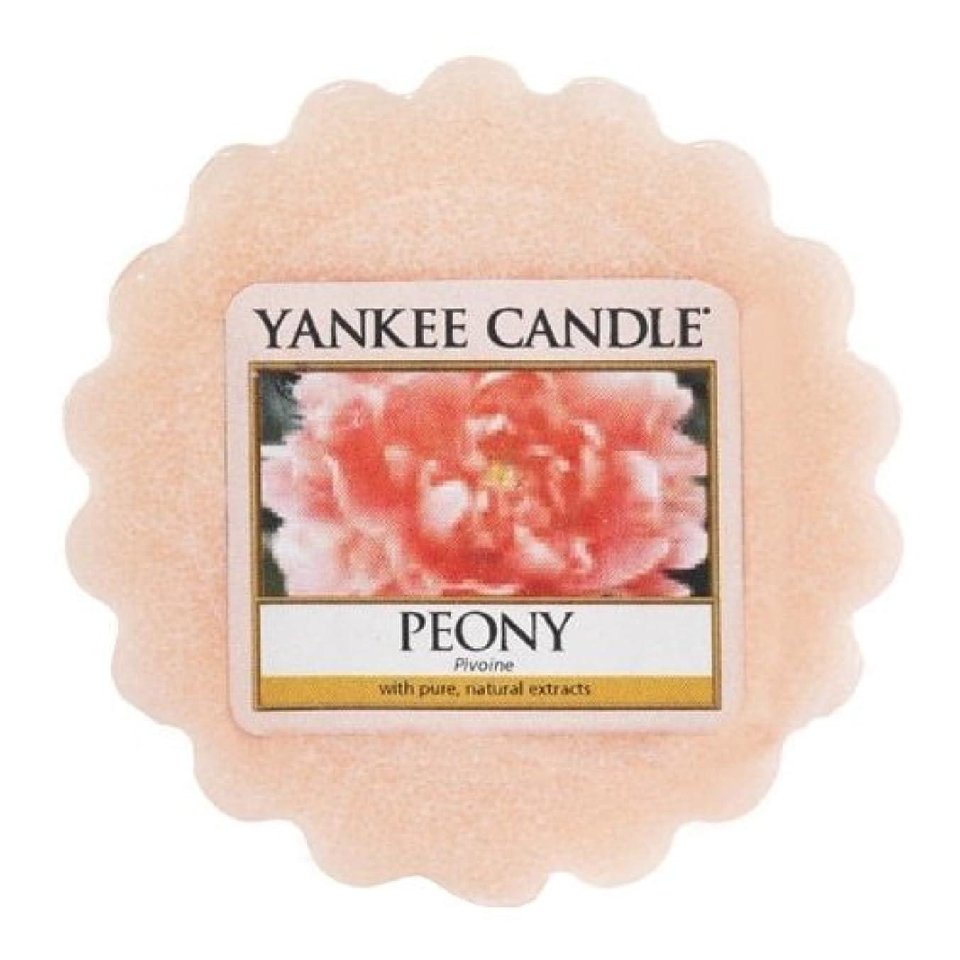 Yankee Candle 22 g Peony Wax Melt (Tart), Pink, l x 5.6cm w x 1.5cm h