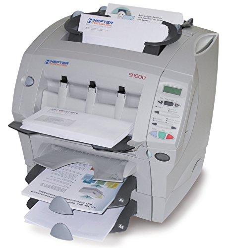 Hefter Systemform SI 1000 ref Kuvertiermaschine Plug Play und die Post geht ab, lichtgrau