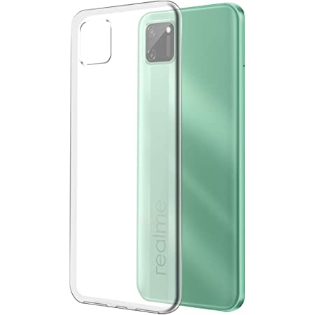 Fashionury Back Cover for Realme C11 (Silicone|Transparent)