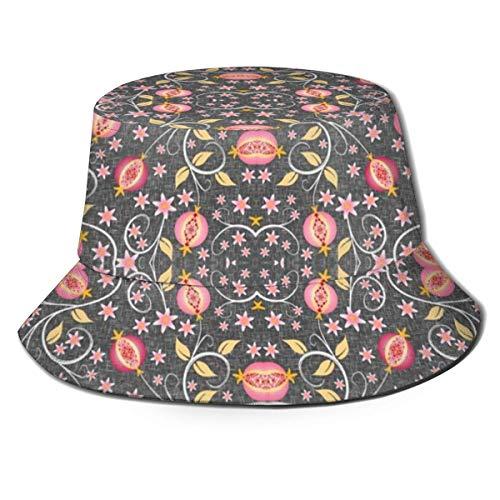 Lawenp Una Joya de una Fruta Sombrero para el Sol para Hombres y Mujeres Sombrero de Pescador Protección UV Senderismo al Aire Libre Pesca Gorra de Moda Lavada