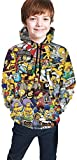 NZ Los Simpsons Boys and Girls Son adecuados para Sudadera con Capucha de suter Juvenil-