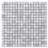 BeNice Pegatinas De Azulejos De Metal Para Cocina, Autoadhesivas, Mosaicos De Pared, Azulejos De BañO, Pelar Y Pegar, 26.5 X 26.5cm, 5piezas Plata
