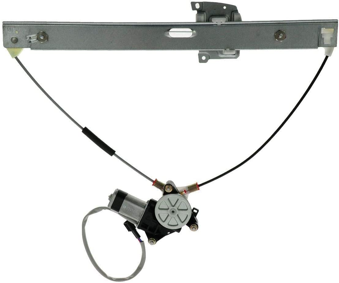 APDTY 852716 Power Window Motor Front Fits Regulator Assembly Bargain sale Ri 5% OFF