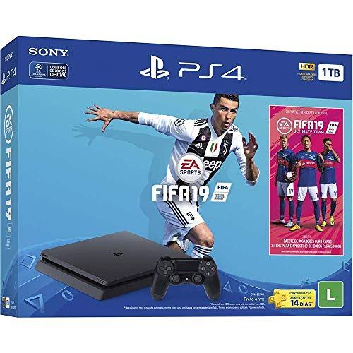Console PlayStation 4 - Slim 1TB - Bundle FIFA 19