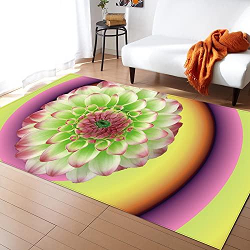 Tapijt Entry Mat Kleurrijke Bloemen Tuin Ontwerp Thema Kleurrijke Afdrukken Decoratie Thuis Entree Slaapkamer Kamer…