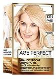 l'oréal paris excellence age perfect, tinta per capelli, tonalità biondo, confezione da 3 (3x 1pezzi)