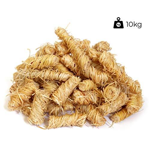 Knight\'s Firewood 10kg Öko Grillanzünder Kaminanzünder Holzwolle Holzanzünder Anzünder