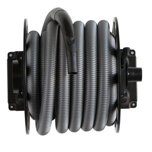 SACH Automatischer Schlauchaufroller für Staubsauger/Zentralstaubsauger mit 11m langem Schlauch
