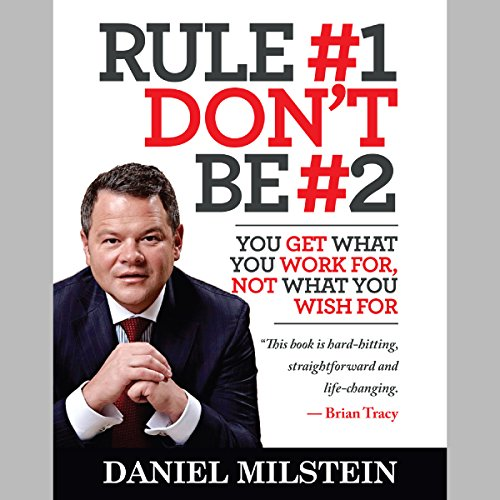 Rule #1 Don't Be #2 audiobook cover art