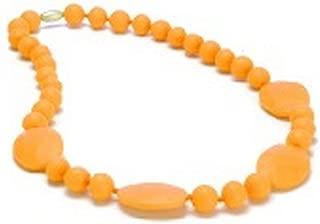 orange teething necklace