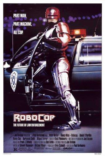 Robocop Poster Film (68,6x 101,6cm–69cm x 102cm) (1987) von Dekorative Wand Poster