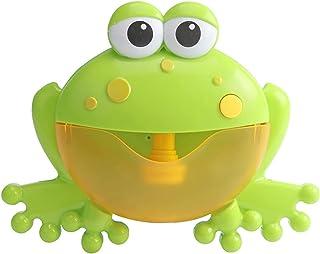 Bubble Machine Outdoor Bubble Machine Crabs Frog Music Kids Bath Toys Bathtub Soap Automatic Bubble Maker Baby Bathroom To...