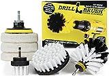 Drillbrush - Taladro sin cable Rotary cepillo depurador...