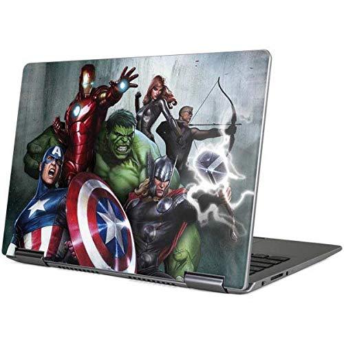 Skinit Decal Laptop Skin for Yoga 710 14in - Officially Licensed Marvel/Disney Avengers Assemble Design