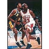 Jordan & Kobe/In Action Michael Jordan & Kobe Bryant Poster