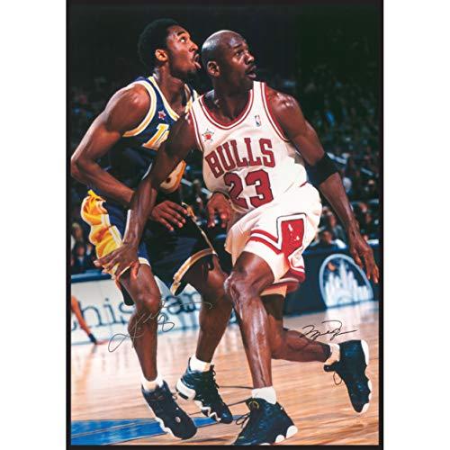 Jordan & Kobe/In Azione Michael Jordan & Kobe Bryant Stampa Poster (60,96 x 91,44 cm)