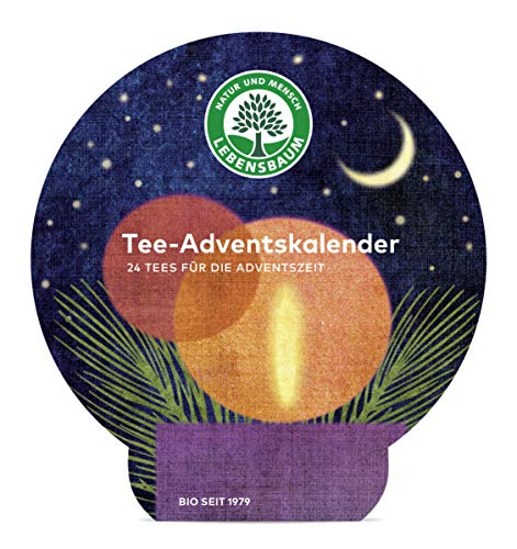 Lebensbaum Bio Tee Adventskalender klein, 149 g