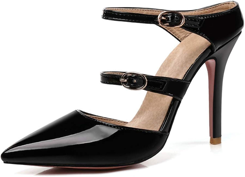 Fashion shoesbox Women's Pointed Toe Pumps Sexy High Heel Sandals Slingback Lady Dress Stiletto Fashion Wedding shoes