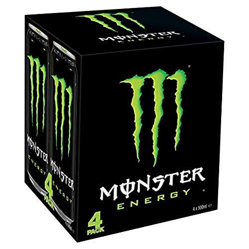 Monster Energy Drink, 4 x 500ml