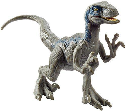 Jurassic World FPF12 Attack Pack Velociraptor, Blu