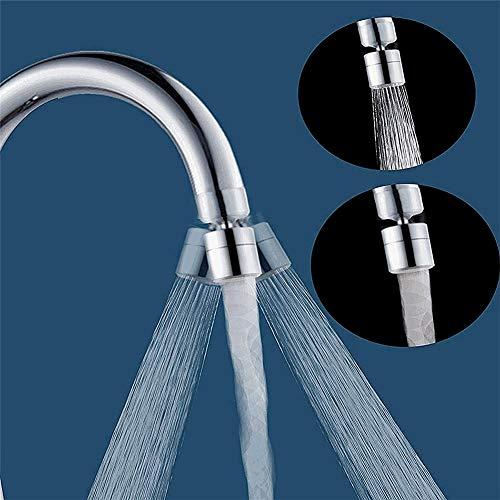 Tap douche bevestiging voor gootsteen, keukenkraan douchekop kraan Wasfles 360 graden Universal Rotary Filter Nozzle Water Saver,Outer wire