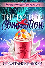 The Potion Commotion (The Happy Blendings Witch Cozy Mystery Series Book 1)