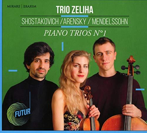 『ピアノ三重奏曲第1番~メンデルスゾーン、アレンスキー、ショスタコーヴィチ』 トリオ・ゼリハ
