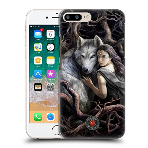 Head Case Designs Licenza Ufficiale Anne Stokes Legame di Anime Lupi 2 Cover Dura per Parte Posteriore Compatibile con Apple iPhone 7 Plus/iPhone 8 Plus